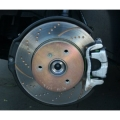 smart car Brake Rotors by EBC - Gold / Slotted / Dimpled